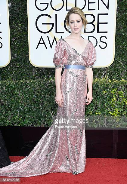 Actress Claire Foy attends the 74th Annual Golden Globe Awards at The Beverly Hilton Hotel on January 8 2017 in Beverly Hills California