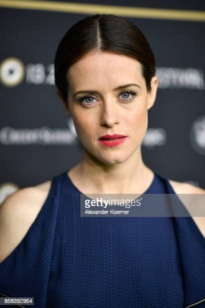 Actress Claire Foy attends the 'Breathe' premiere at the 13th Zurich Film Festival on October 6 2017 in Zurich Switzerland The Zurich Film Festival...
