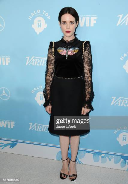 Actress Claire Foy attends Variety and Women In Film's 2017 preEmmy celebration at Gracias Madre on September 15 2017 in West Hollywood California