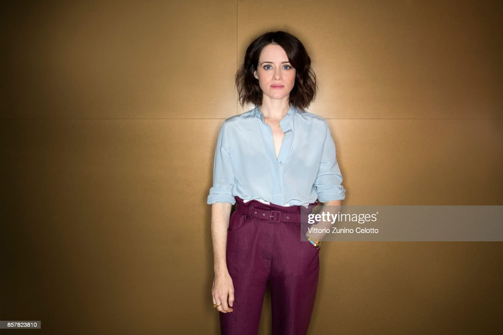 Actress Claire Foy is photographed during the 61st BFI London Film Festival on October 4, 2017 in London, England.