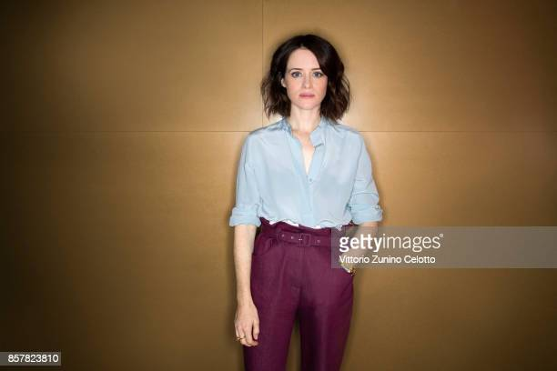 Actress Claire Foy is photographed during the 61st BFI London Film Festival on October 4 2017 in London England