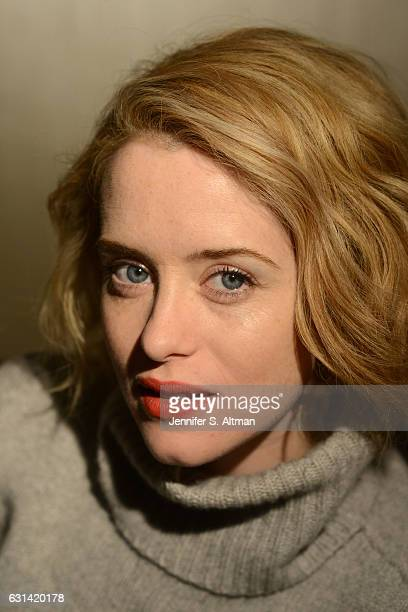 Actress Claire Foy is photographed for Los Angeles Times on October 25 2016 in New York City