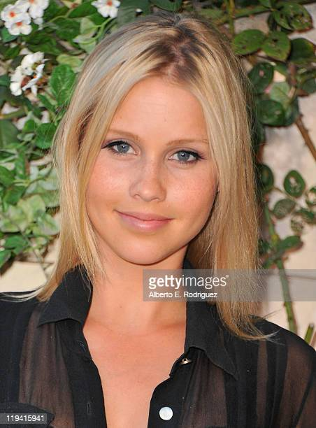 Actress Claire Holt attends MIU MIU presents Lucrecia Martel's 'Muta' on July 19 2011 in Beverly Hills California