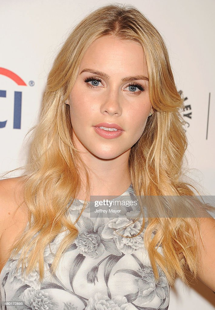 Actress Claire Holt attends the 2014 PaleyFest - 'The Vampire Diaries' & 'The Originals' held at Dolby Theatre on March 21, 2014 in Hollywood, California.