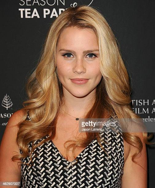 Actress Claire Holt attends the BAFTA LA 2014 awards season tea party at Four Seasons Hotel Los Angeles at Beverly Hills on January 11 2014 in...