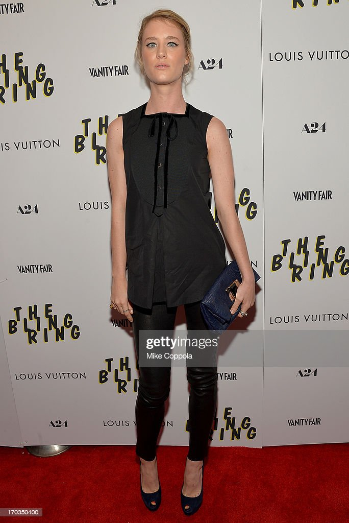 Actress Claire Julien attends 'The Bling Ring' screening at Paris Theatre on June 11 2013 in New York City