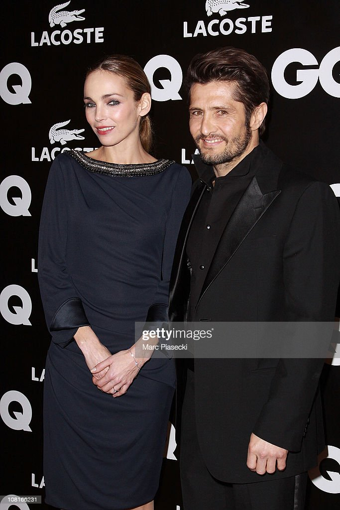 Actress <a gi-track='captionPersonalityLinkClicked' href=/galleries/search?phrase=Claire+Keim&family=editorial&specificpeople=867122 ng-click='$event.stopPropagation()'>Claire Keim</a> and <a gi-track='captionPersonalityLinkClicked' href=/galleries/search?phrase=Bixente+Lizarazu&family=editorial&specificpeople=213089 ng-click='$event.stopPropagation()'>Bixente Lizarazu</a> attend the 'GQ Man of the year 2010' at Shangri-La Hotel Paris on January 19, 2011 in Paris, France.