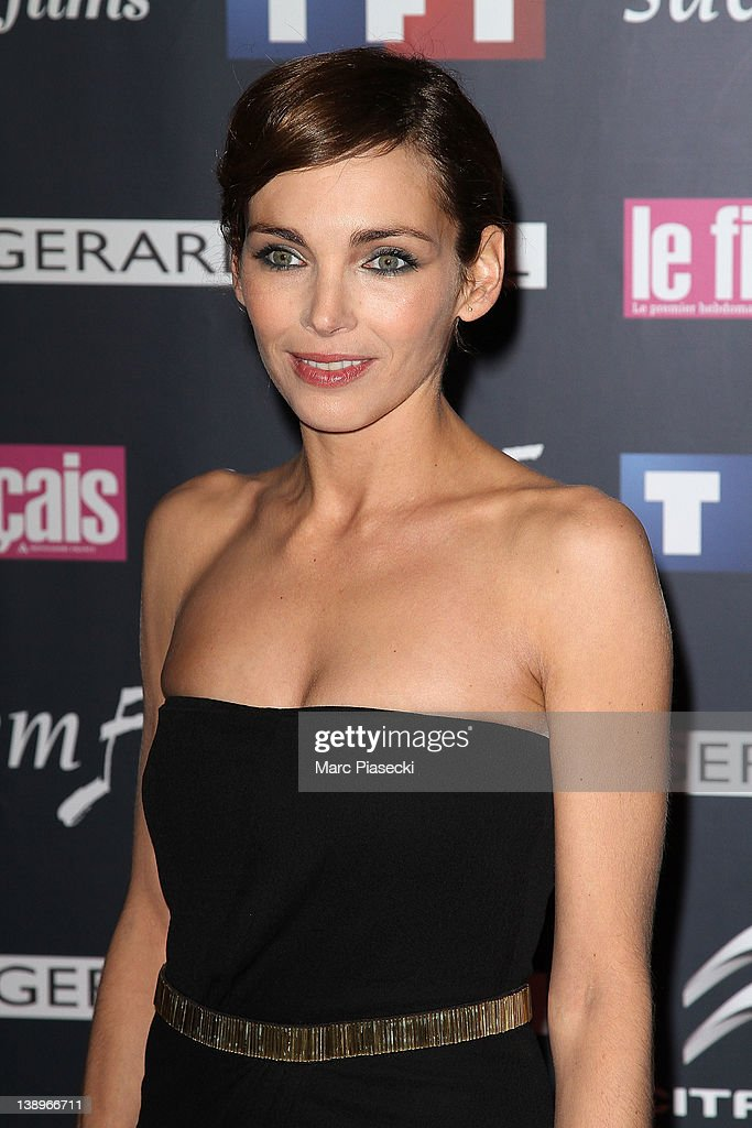 Actress <a gi-track='captionPersonalityLinkClicked' href=/galleries/search?phrase=Claire+Keim&family=editorial&specificpeople=867122 ng-click='$event.stopPropagation()'>Claire Keim</a> attends the 'Trophees Du Film Francais 2012' photocall at Palais Brongniart on February 14, 2012 in Paris, France.