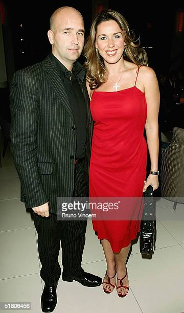 Actress Claire Sweeney attends the 'Festival Of Trees' VIP and Media Preview at One Aldwych on November 30 2004 in London England The event is a...