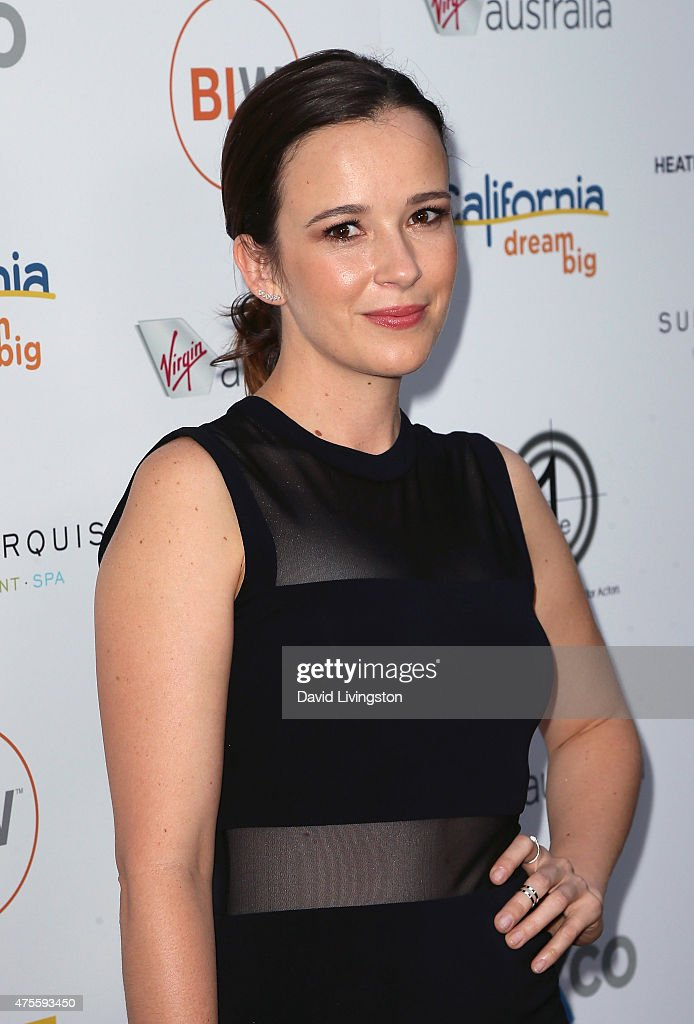 Actress Claire van der Boom attends Australians In Film Heath Ledger Scholarship Announcement Dinner at Sunset Marquis Hotel & Villas on June 1, 2015 in West Hollywood, California.