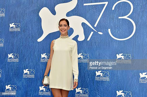 Actress Clara Alonso attends a photocall for 'Piuma' during the 73rd Venice Film Festival at Palazzo del Casino on September 5 2016 in Venice Italy