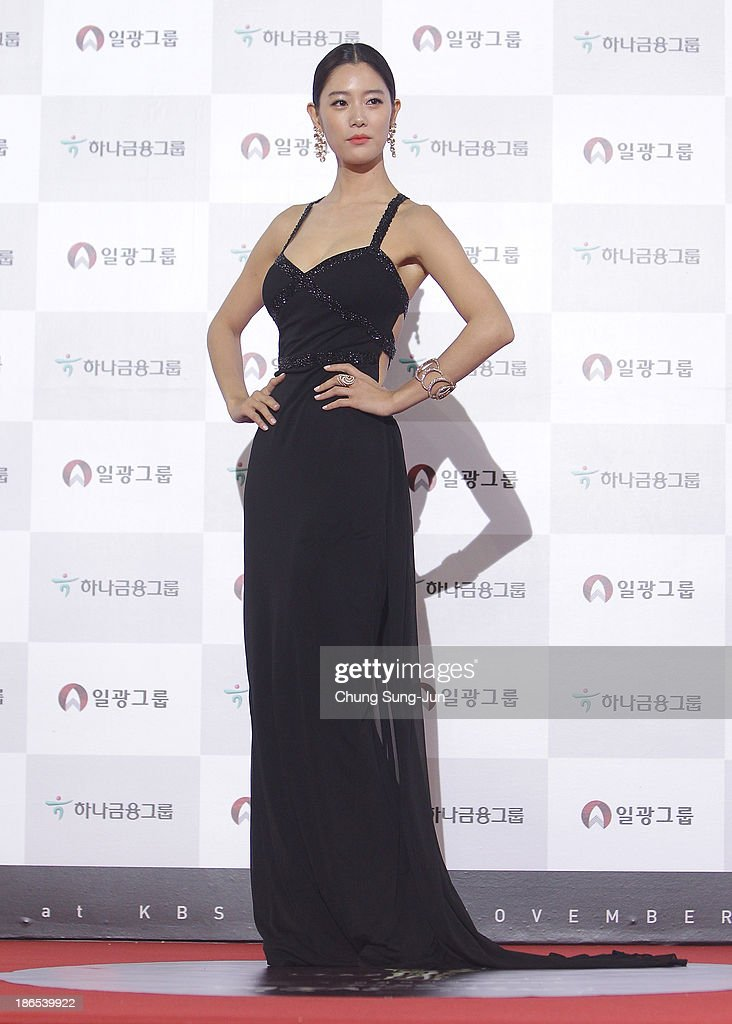 Actress <a gi-track='captionPersonalityLinkClicked' href=/galleries/search?phrase=Clara+-+South+Korean+Actress&family=editorial&specificpeople=13597668 ng-click='$event.stopPropagation()'>Clara</a> arrives for the 50th Daejong Film Awards at KBS hall on November 1, 2013 in Seoul, South Korea.