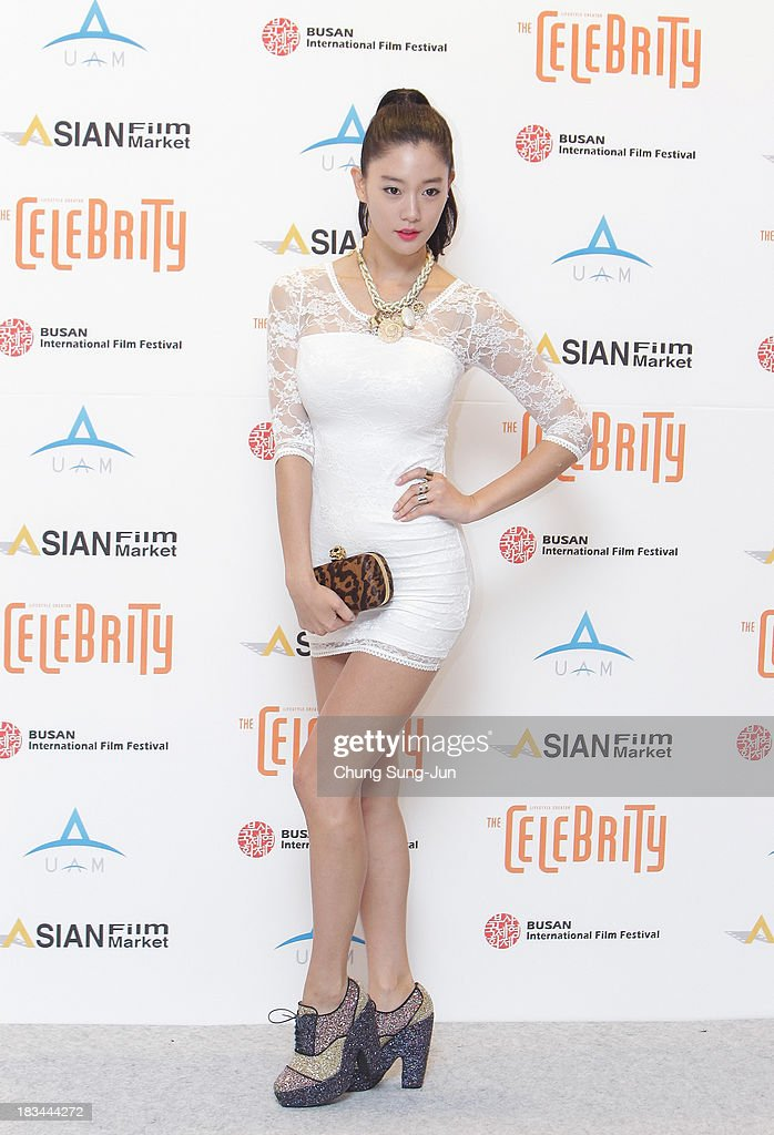 Actress Clara arrives for the United Asian Film Night at the Chosun hotel during the 18th Busan International Film Festival (BIFF) on October 6, 2013 in Busan, South Korea. The biggest film festival in Asia showcases 299 films from 70 countries and runs from October 3-12.