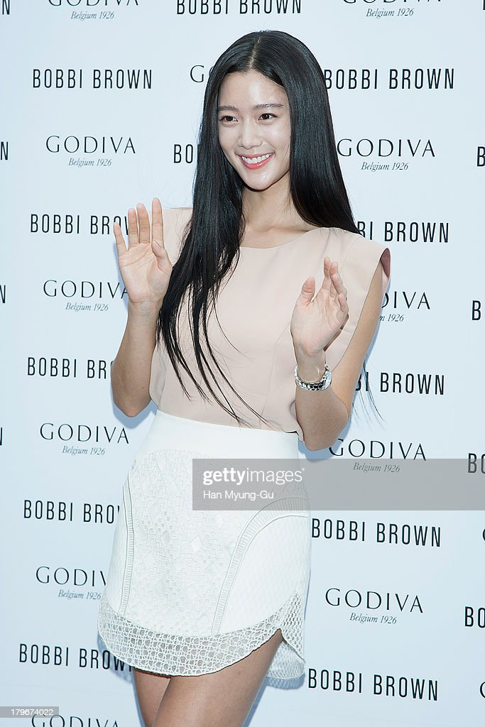 Actress Clara attends during the Bobbi Brown 'Rich Chocolate Collection' Launching Party With Godiva at Godiva flagship store on September 6, 2013 in Seoul, South Korea.