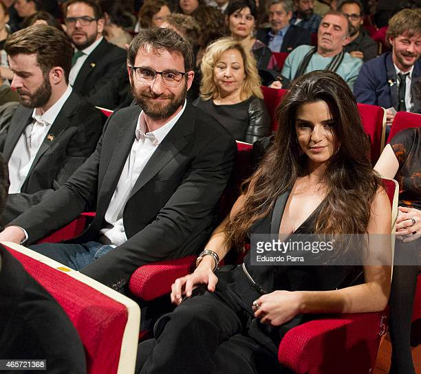 Actress Clara Lago and actor Dani Rovira attend the Union de actores Awards at La Latina theatre on March 9 2015 in Madrid Spain