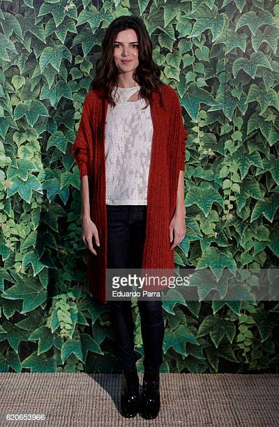 Actress Clara Lago attends the Intropia benefit rummage photocall at Puerta de America Hotel on November 2 2016 in Madrid Spain