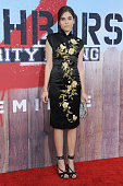 Actress Clara Mamet arrives at the Los Angeles Premiere 'Neighbors 2 Sorority Rising' at Regency Village Theatre on May 16 2016 in Los Angeles...