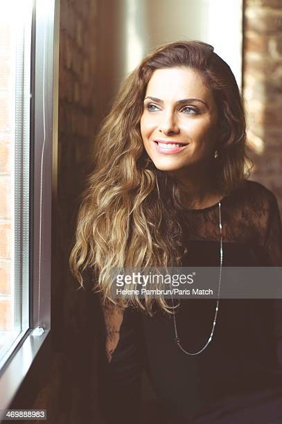 Actress Clara Morgane is photographed for Paris Match on January 14 2014 in Suresnes France