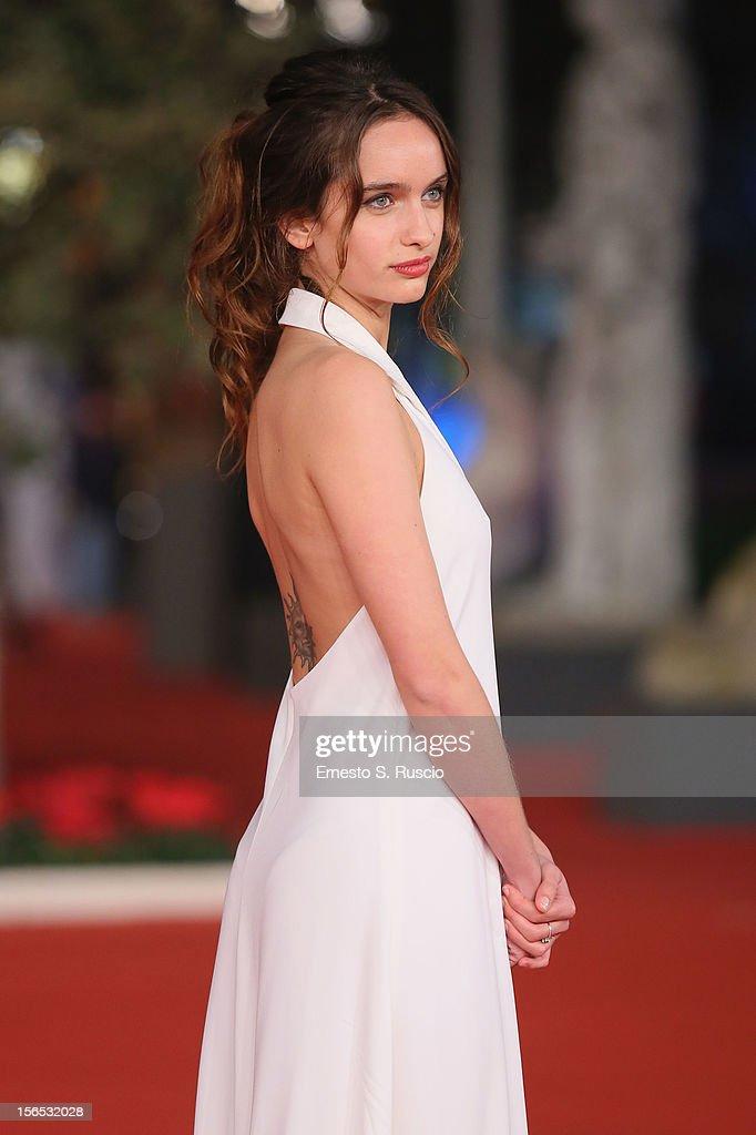 Actress Clara Ponsot attend the 'Cosimo E Nicole' Premiere during the 7th Rome Film Festival at Auditorium Parco Della Musica on November 16, 2012 in Rome, Italy.