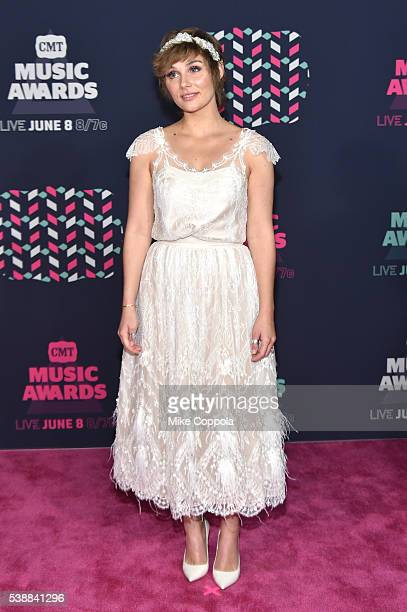 Clare bowen stock photos and pictures getty images actress clare bowen attends the 2016 cmt music awards at the bridgestone arena on june 8 pmusecretfo Images