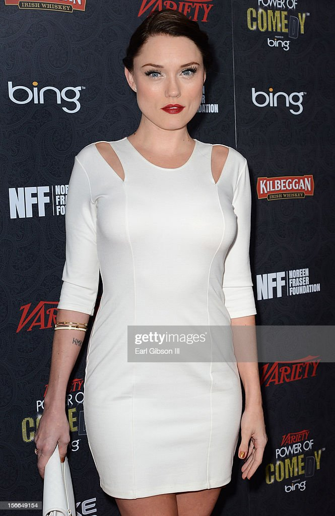 Actress Clare Grant arrives at Variety's 3rd annual Power of Comedy event presented by Bing benefiting the Noreen Fraser Foundation held at Avalon on November 17, 2012 in Hollywood, California.