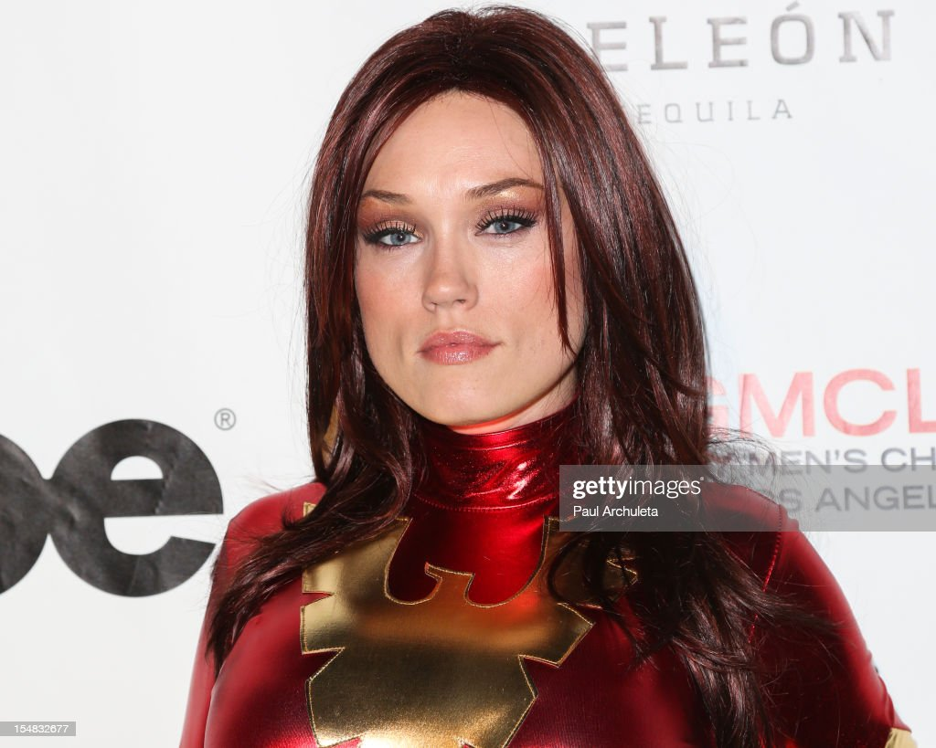 Actress Clare Grant attends Fred & Jason's annual Halloweenie charity event at The Lot on October 26, 2012 in West Hollywood, California.