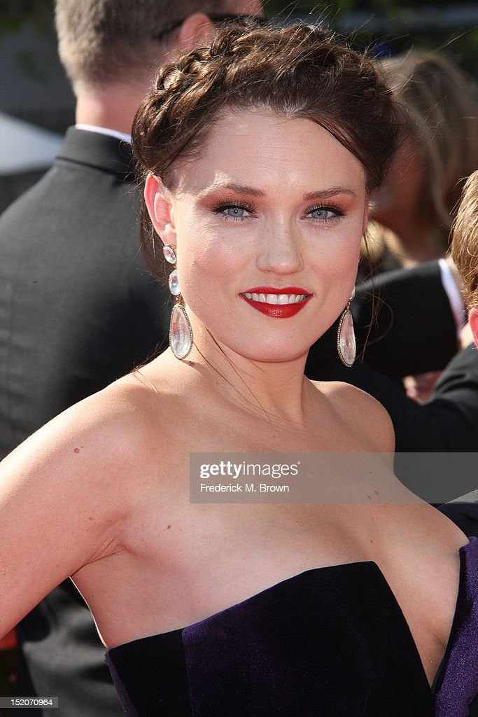 Actress Clare Grant attends The Academy Of Television Arts & Sciences 2012 Creative Arts Emmy Awards at the Nokia Theatre L.A. Live on September 15, 2012 in Los Angeles, California.