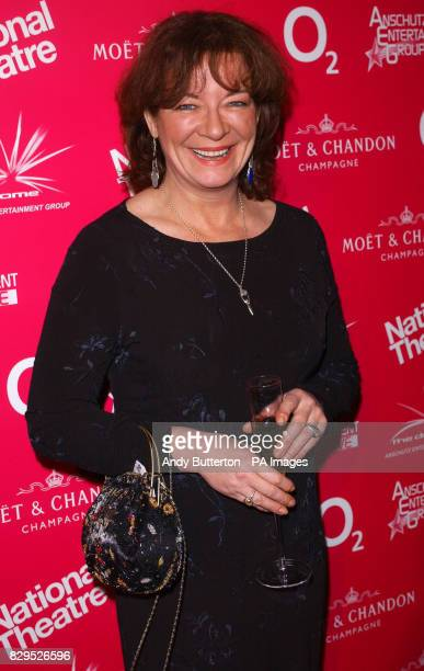 Actress Clare Higgins arrives