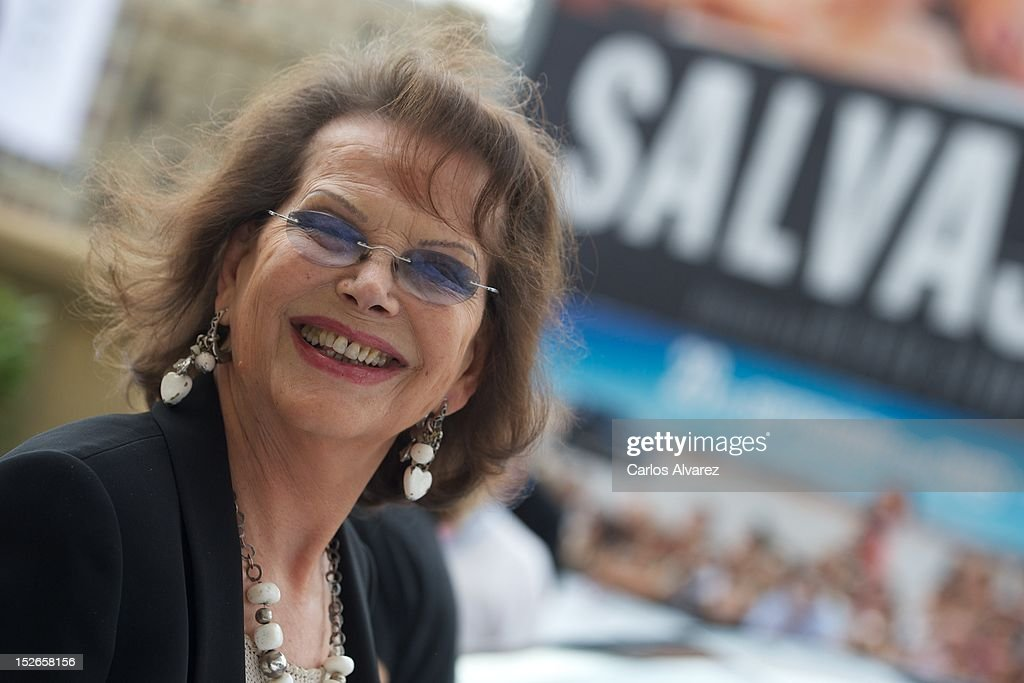 Actress <a gi-track='captionPersonalityLinkClicked' href=/galleries/search?phrase=Claudia+Cardinale&family=editorial&specificpeople=208838 ng-click='$event.stopPropagation()'>Claudia Cardinale</a> arrives at the Maria Cristina Hotel during 60th San Sebastian International Film Festival on on September 23, 2012 in San Sebastian, Spain.