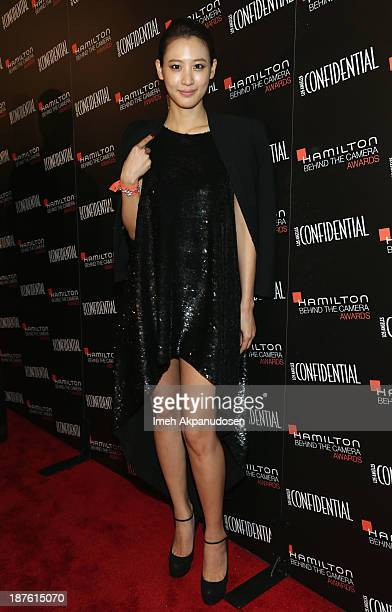 Actress Claudia Kim attends Hamilton and Los Angeles Confidential Magazine's announcement of the 7th Annual Hamilton Behind The Camera Awards at The...