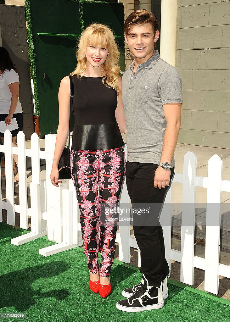 Actress Claudia Lee and actor Garrett Clayton attend Variety's 7th annual Power of Youth event at Universal Studios Hollywood on July 27 2013 in...