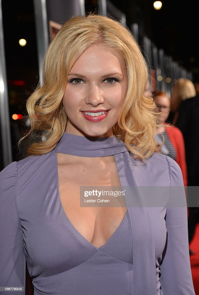 Actress Claudia Lee arrives at the premiere of Fox Searchlight Pictures' 'Hitchcock' at the Academy of Motion Picture Arts and Sciences Samuel Goldwyn Theater on November 20, 2012 in Beverly Hills, California.