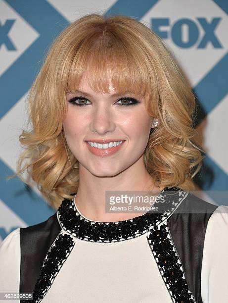 Actress Claudia Lee arrives to the 2014 Fox AllStar Party at the Langham Hotel on January 13 2014 in Pasadena California