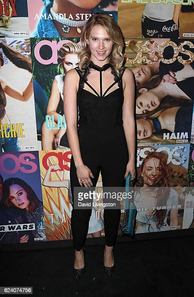 Actress Claudia Lee attends the launch of ASOS Magazine US Edition at The Sayers Club on November 17 2016 in Hollywood California