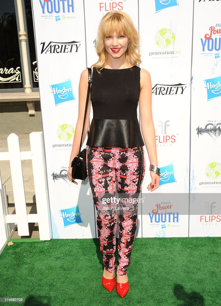 Actress <a gi-track='captionPersonalityLinkClicked' href=/galleries/search?phrase=Claudia+Lee&family=editorial&specificpeople=6786306 ng-click='$event.stopPropagation()'>Claudia Lee</a> attends Variety's 7th annual Power of Youth event at Universal Studios Hollywood on July 27, 2013 in Universal City, California.