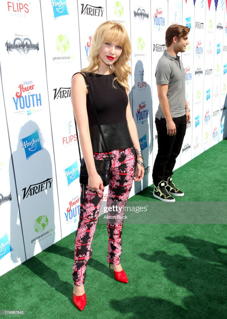 Actress Claudia Lee attends Variety's Power of Youth presented by Hasbro, Inc. and generationOn at Universal Studios Backlot on July 27, 2013 in Universal City, California.