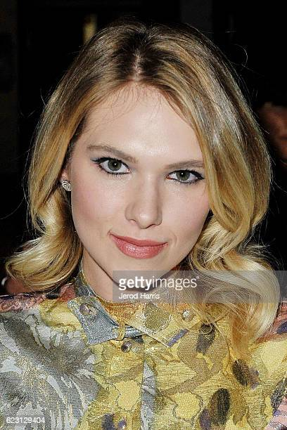 Actress Claudia Lee attends Wolk Morais Collection 4 Fashion Show at Harlowe on November 13 2016 in West Hollywood California