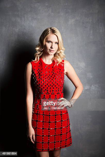 Actress Claudia Lee of the film 'The Girl in the Photographs' is photographed for Los Angeles Times on September 25 2015 in Toronto Ontario PUBLISHED...