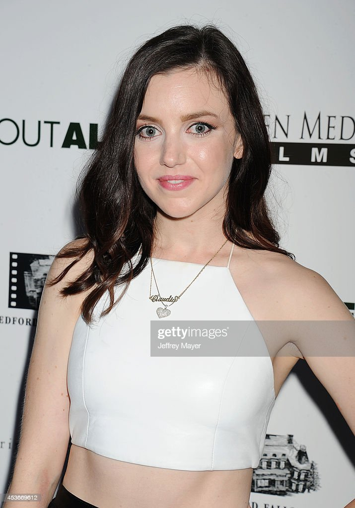 Actress <a gi-track='captionPersonalityLinkClicked' href=/galleries/search?phrase=Claudia+Levy&family=editorial&specificpeople=11323103 ng-click='$event.stopPropagation()'>Claudia Levy</a> attends the 'About Alex' Los Angeles premiere held at the Arclight Theater on August 6, 2014 in Hollywood, California.