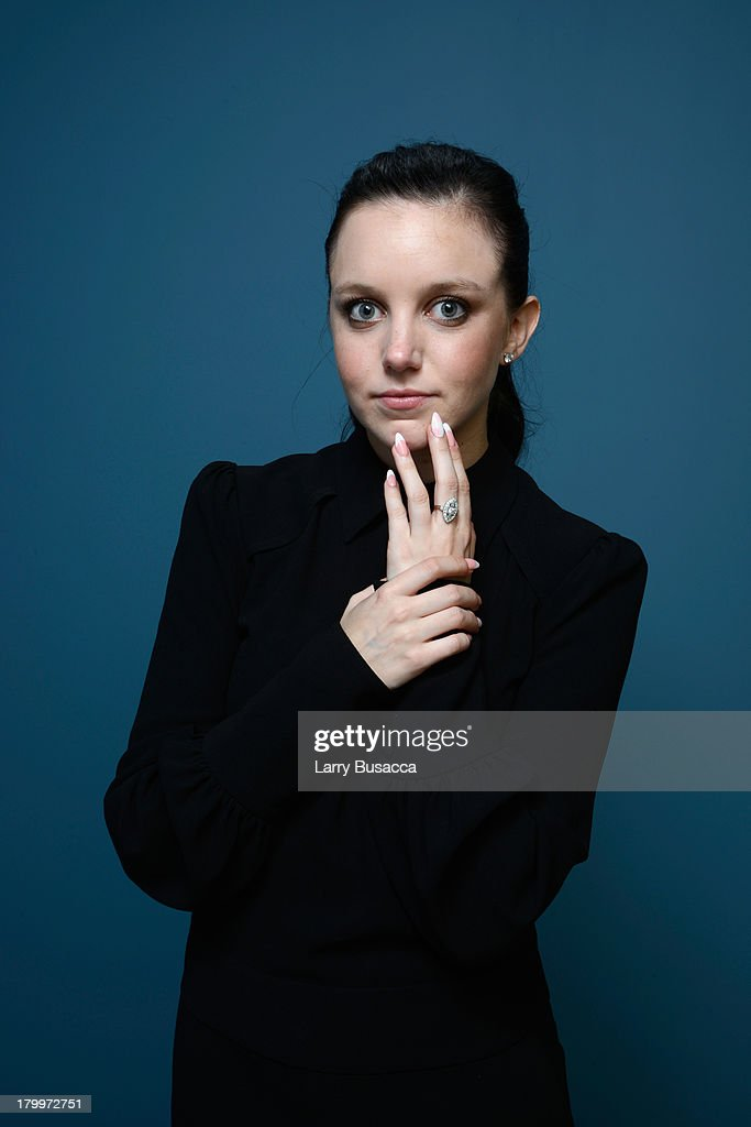 Actress Claudia Levy of 'Palo Alto' poses at the Guess Portrait Studio during 2013 Toronto International Film Festival on September 7, 2013 in Toronto, Canada.