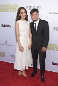 Actress Claudia Traisac and actor Josh Hutcherson attend the premiere of 'Escobar Paradise Lost' at ArcLight Hollywood on June 22 2015 in Hollywood...