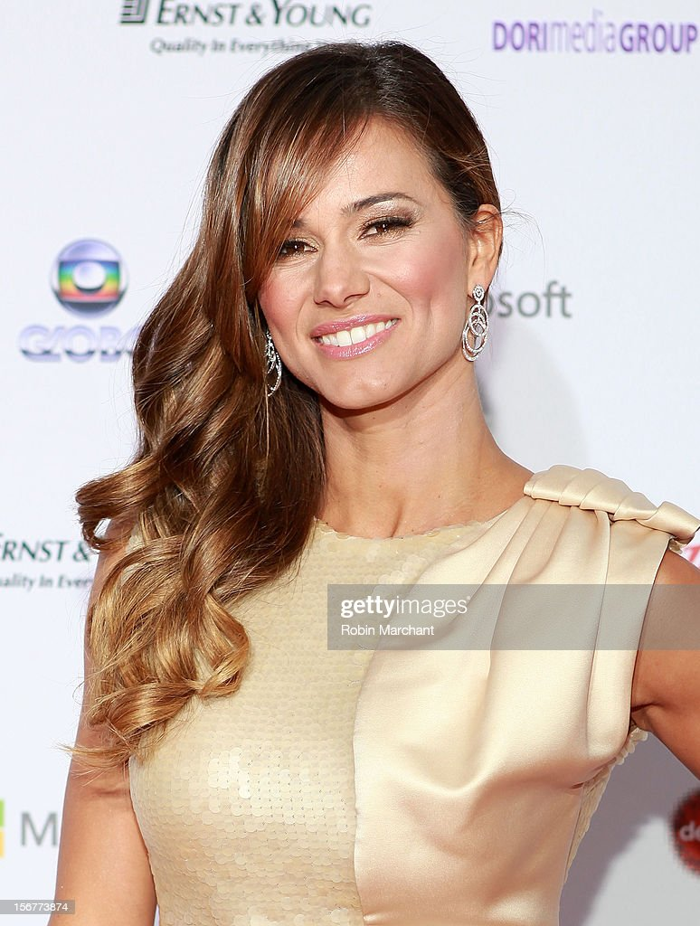 Actress Claudia Vieira attends the 40th International Emmy Awards on November 19, 2012 in New York City.