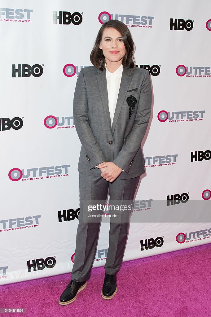 Actress Clea DuVall arrives 2016 Outfest Los Angeles LGBT Film Festival Opening Night Gala of 'The Intervention' at Orpheum Theatre on July 7 2016 in...