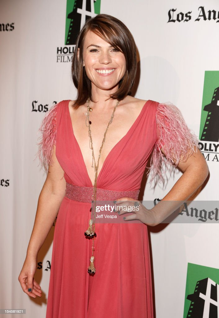 Actress Clea DuVall arrives at the 16th Annual Hollywood Film Awards Gala presented by The Los Angeles Times held at The Beverly Hilton Hotel on October 22, 2012 in Beverly Hills, California.