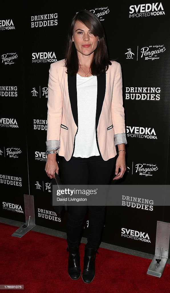 Actress Clea DuVall attends a screening of Magnolia Pictures' 'Drinking Buddies' at ArcLight Cinemas on August 15, 2013 in Hollywood, California.