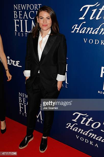 Actress Clea DuVall attends the 2015 Newport Beach Film Festival for the 'Jackie Ryan' Premiere at Triangle Square Theater on April 25 2015 in Costa...