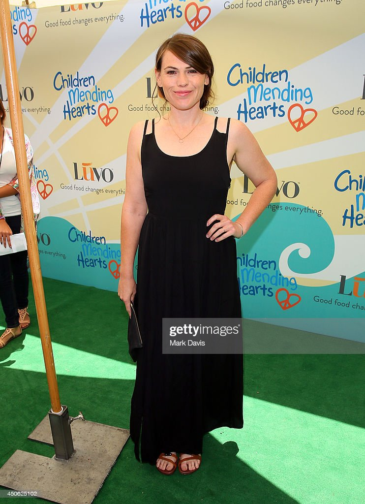 Actress Clea DuVall attends the Children Mending Hearts 6th Annual Fundraiser 'Empathy Rocks: A Spring Into Summer Bash' at a private residence on June 14, 2014 in Beverly Hills, California.