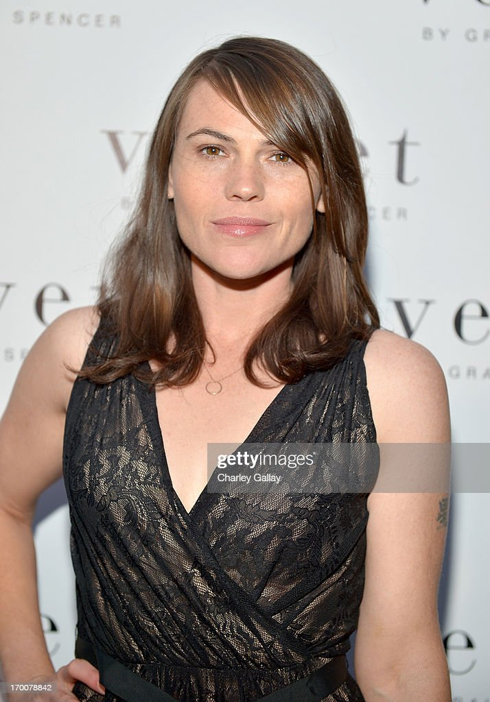 Actress Clea DuVall attends the opening of the Velvet by Graham & Spencer store on June 6, 2013 in Brentwood, California.