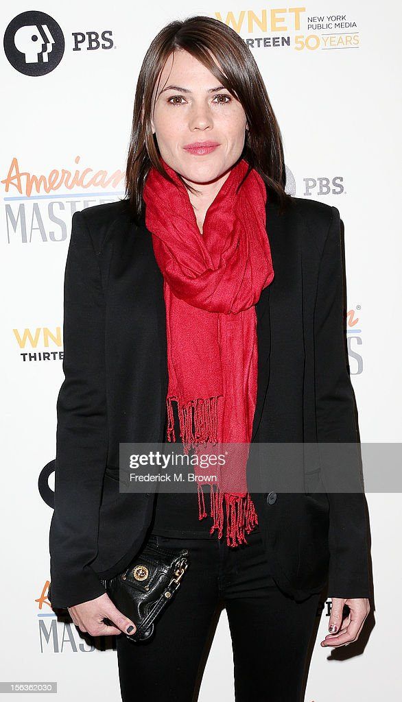 Actress Clea DuVall attends the Premiere Of 'American Masters Inventing David Geffen' at The Writers Guild of America on November 13, 2012 in Beverly Hills, California.