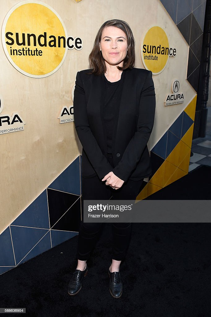 Actress Clea DuVall attends the Sundance Institute NIGHT BEFORE NEXT Benefit at The Theatre at The Ace Hotel on August 11 2016 in Los Angeles...